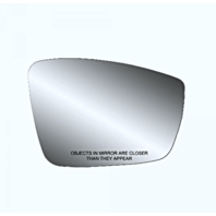 Right Pass Heated Mirror Glass w/Rear Holder for 11-18 Jetta    3 Style Types