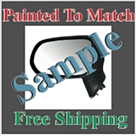 Painted To Match Fits 02-04 Altima Right Pass Power Mirror W/Hear Non Folding