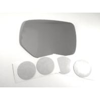 Fits 13-16 Impreza, XV Crosstrek, 15-16 WRX Right Pass Heated Mirror Glass Lens w/Adhesive