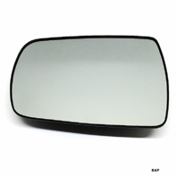 Fits 06-14 Sedona 07-08 Entourage Lt Driver Mirror Glass  w/Backing Plate  OE