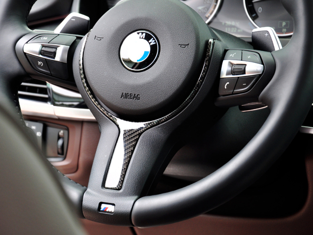 Autotecknic Carbon Fiber Steering Wheel Trim M Sport Various Bmw Vehicles Ebay