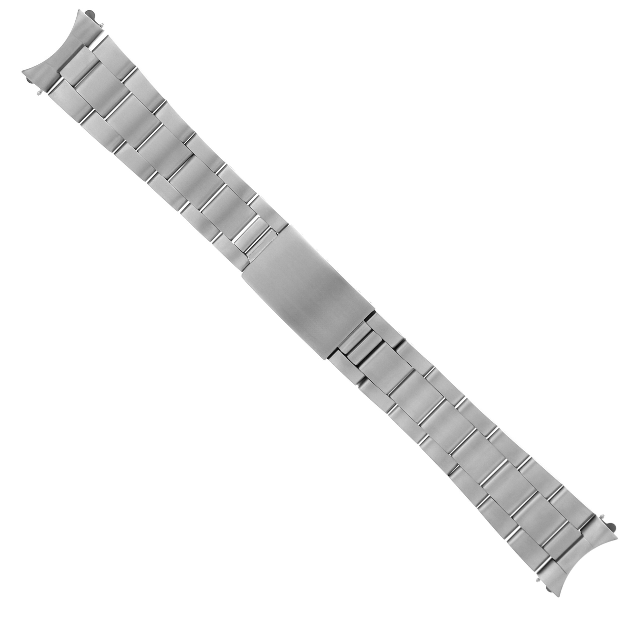 HIGH END SOLID OYSTER WATCH BAND STAINLESS FOR ROLEX 20MM DATEJUST MATTE HEAVY