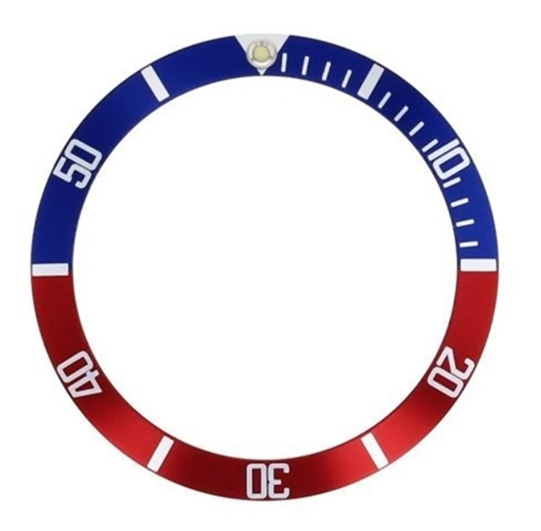 bezel insert for 40mm invicta 8926c pro diver red blue pepsi sapphire part ebay. Black Bedroom Furniture Sets. Home Design Ideas
