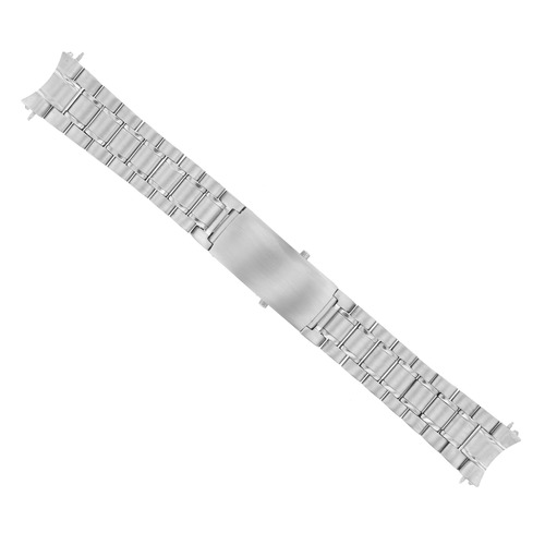 18MM WATCH BAND SOLID LINK BRACELET FOR OMEGA SPEEDMASTER 3510.50.00  S/S HEAVY