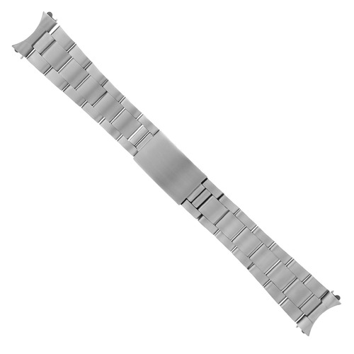 19MM OYSTER WATCH BAND BRACELET FOR GRAND SEIKO 5 SNXS79 STEEL HEAVY TOP QUALITY