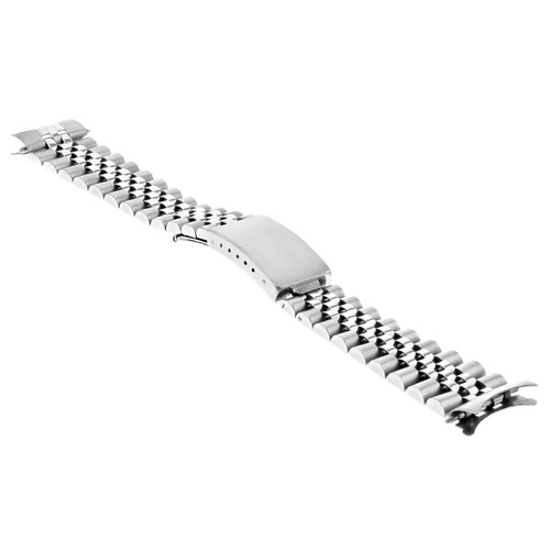 17MM JUBILEE WATCH BAND FOR 31MM CASE ROLEX MIDSIZE 68240 STAINLESS STEEL HEAVY