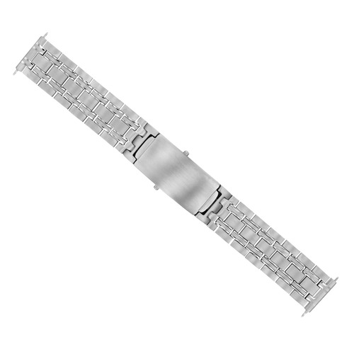 18MM WATCH BAND SOLID LINK BRACELET FOR 39MM OMEGA SPEEDMASTER SCHUMACHER STEEL