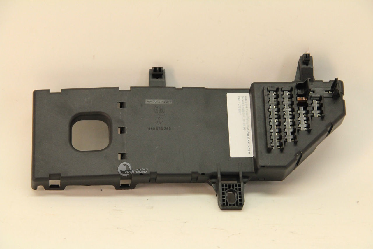 Saab 9-3 Fuse Relay Box Fusebox, Under Hood 12785597, ...