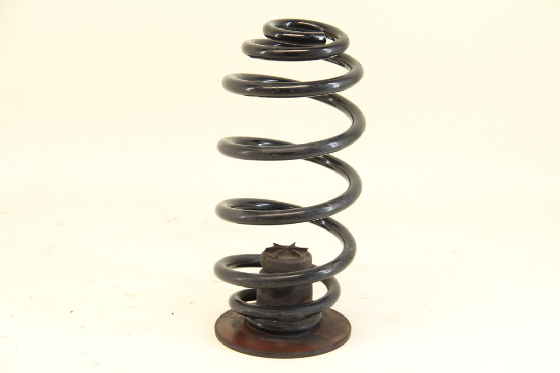 Saab 9-3 Convertible 04-11, Coil Shock Spring, Rear Left or Right 12790054, OEM