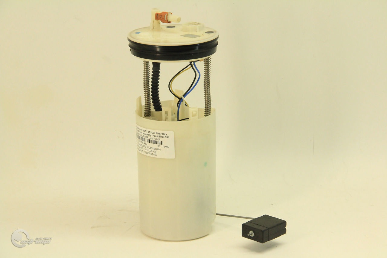 Honda Accord V6 03 07 Fuel Filter Gas Pump Module Assembly 17045 Sdb 2001