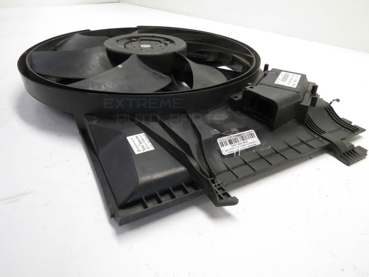 Mercedes C230 02-05 Radiator Cooling Fan Motor w/ Shroud, A/T 2035000293