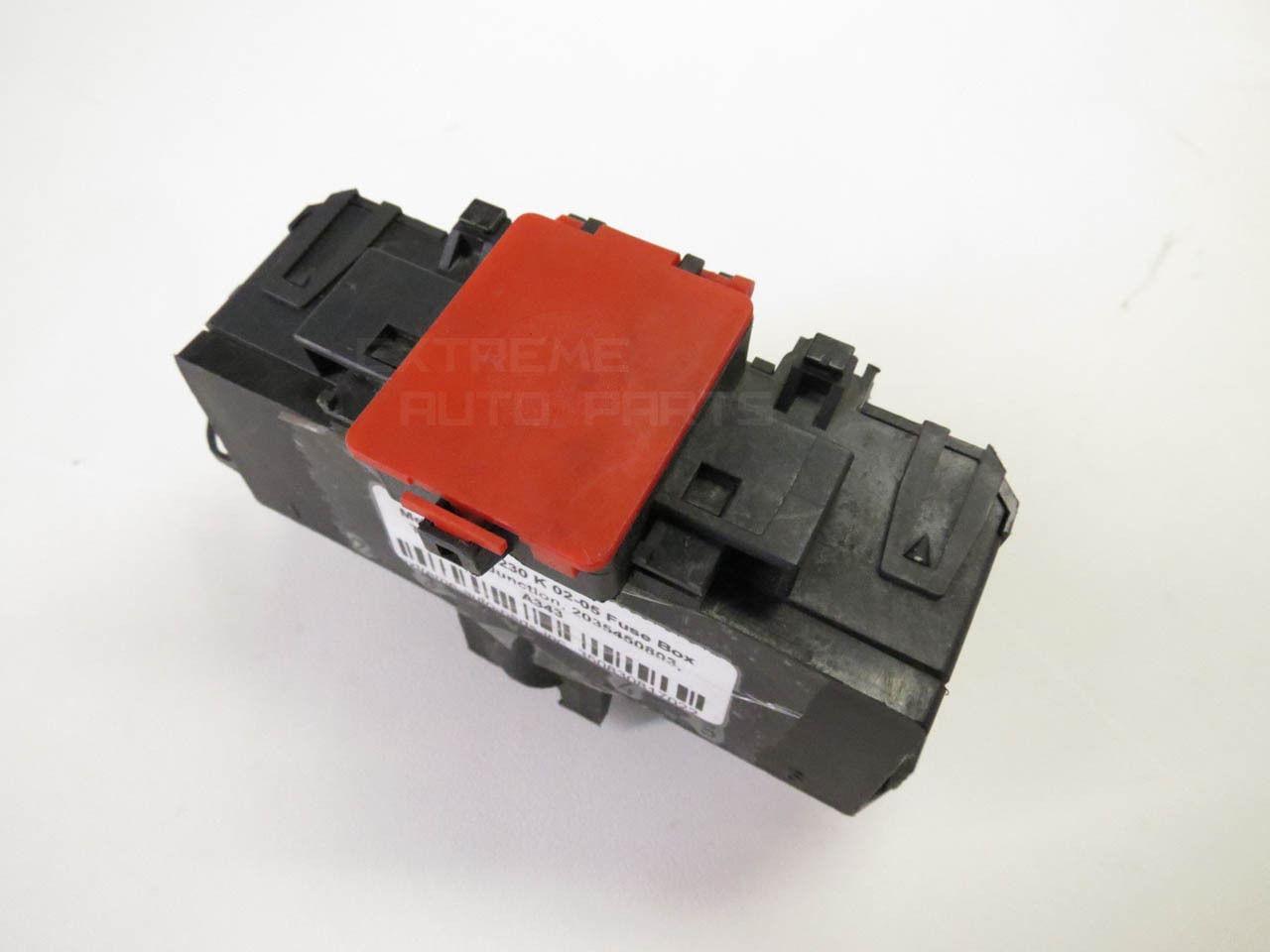 Mercedes C230 K 02 05 Fuse Box Terminal Junction 2035450803