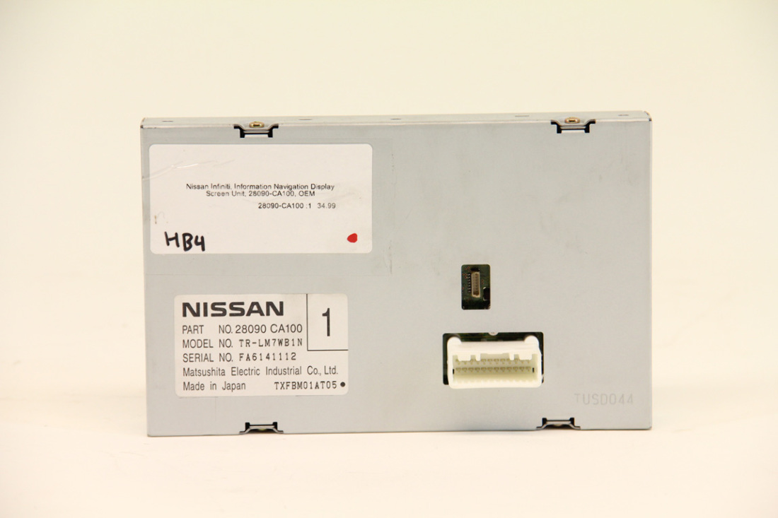 2005-2007 Nissan Titan Navigation Information Display Screen 28090 CA100 OEM !