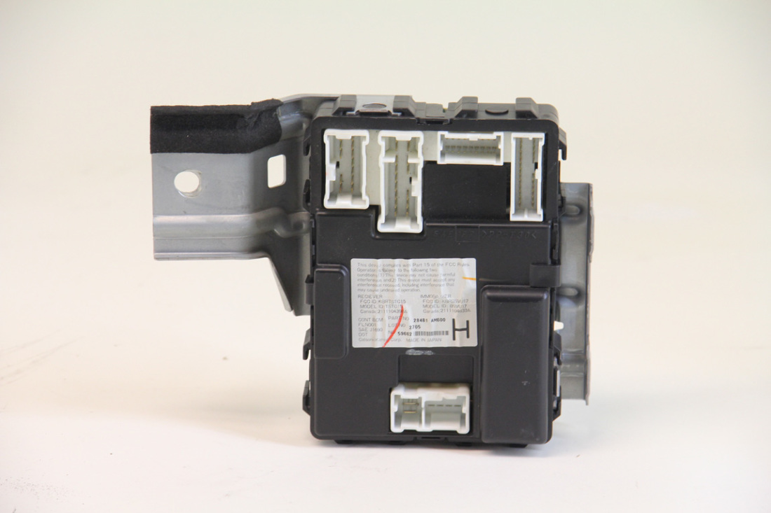 ... infiniti g35 sedan 2003 2004, under dash fuse box, 284b1 am600 2003 g35  sedan