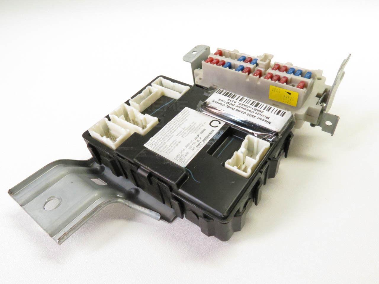 ... Nissan 350Z 05 Under Dash BCM Body Control Fuse Box Relay 284B1-CE800  ...