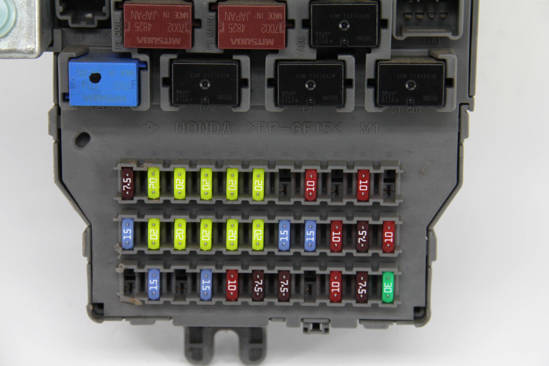 Honda Odyssey Touring Under Dash Interior Fuse Box Relay ...