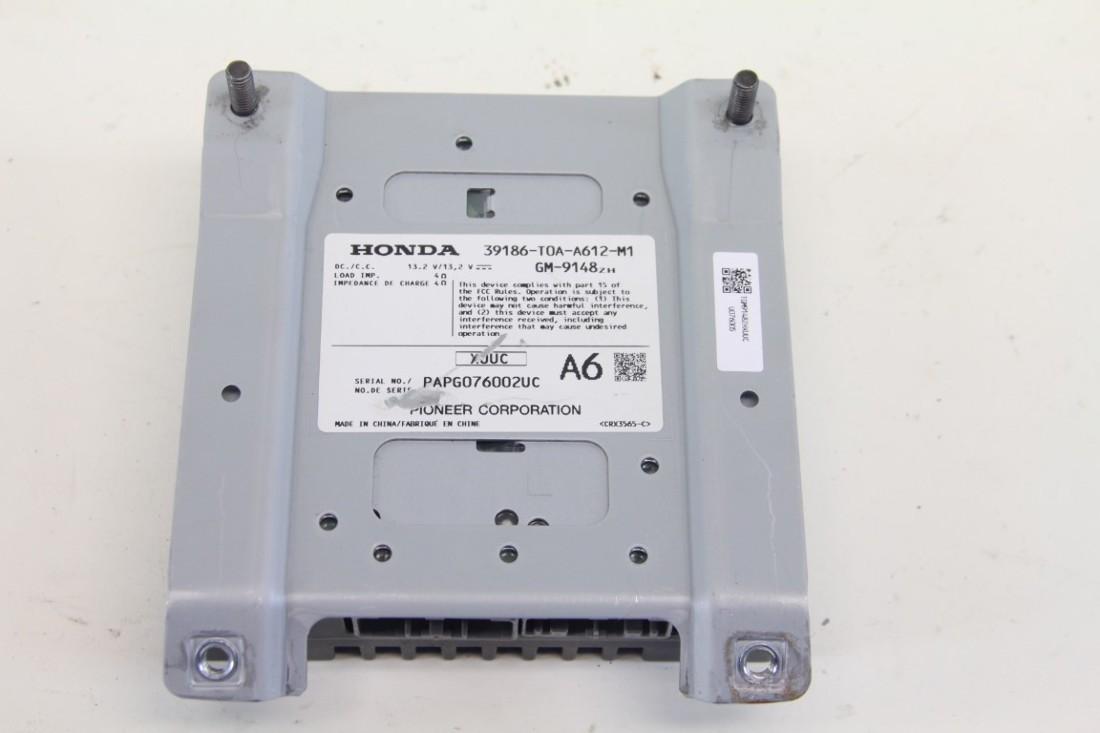 Honda Crv Cr V Audio Amp Amplifier Control Module Pioneer 39186 T0a Wire Harness A61