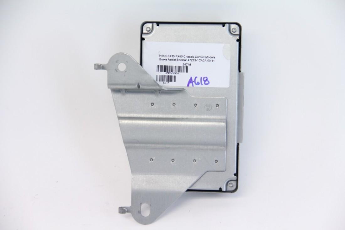 Infiniti FX35 FX50 Chassis Control Module Brake Assist Booster 47213-1CA0A 09-11