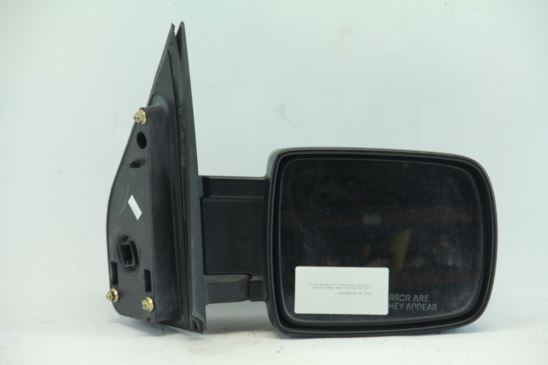 Honda Element 03-11 Side Rear View Mirror Assembly, Right, Black 76200SCVA01ZA
