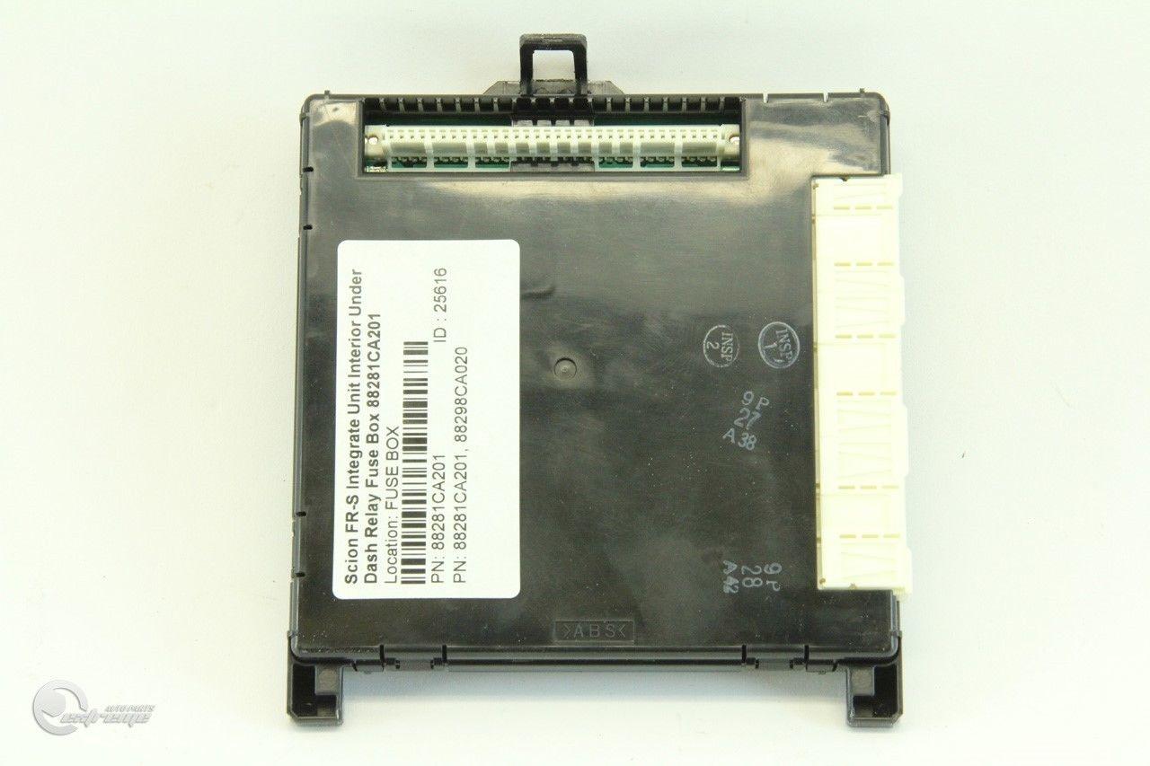 ... Scion FR-S Integrate Unit Interior Under Dash Relay Fuse Box 82201CA000  ...