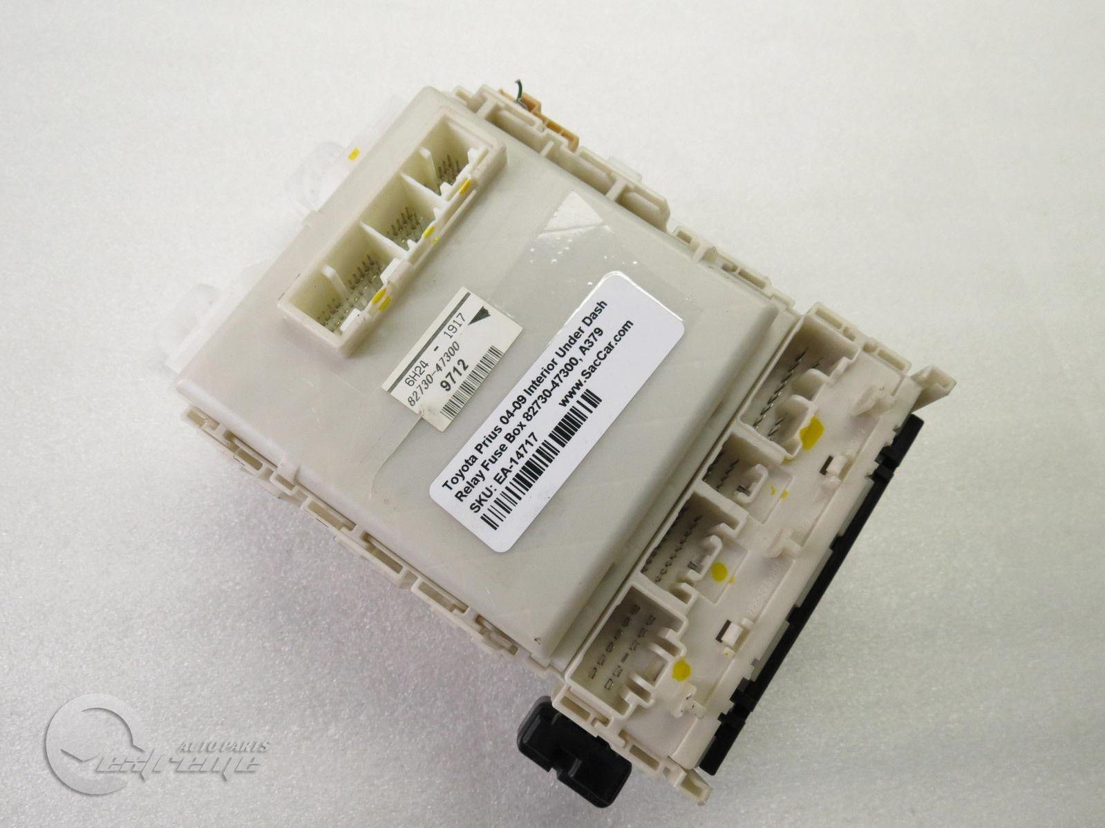 ... Toyota Prius 82730-47300 Interior Under Dash Relay Fuse Box 04 05 06 07  08 ...