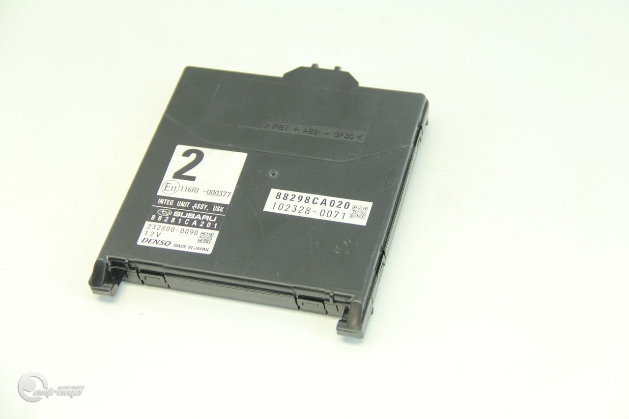 Scion FR-S Integrate Unit Interior Under Dash Relay Fuse Box 88281CA201 ...