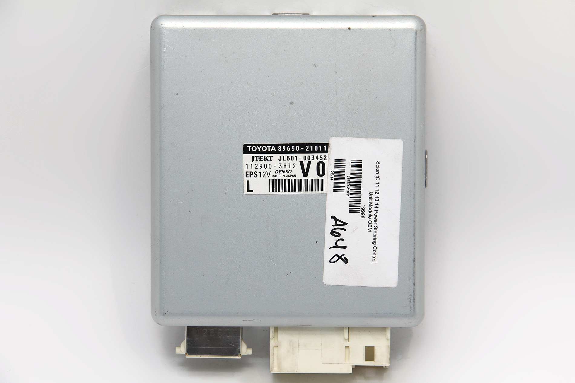 12 SCION TC POWER STEERING ECU COMPUTER CONTROL MODULE 89650-21011 OEM 11 12 13