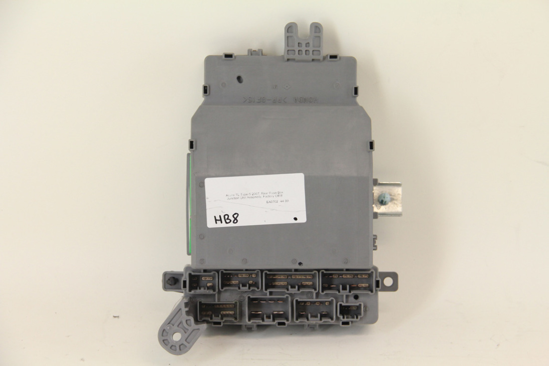 Acura Tl Type S 2007 Rear Fuse Box Junction Unit Assembly Factory Oem