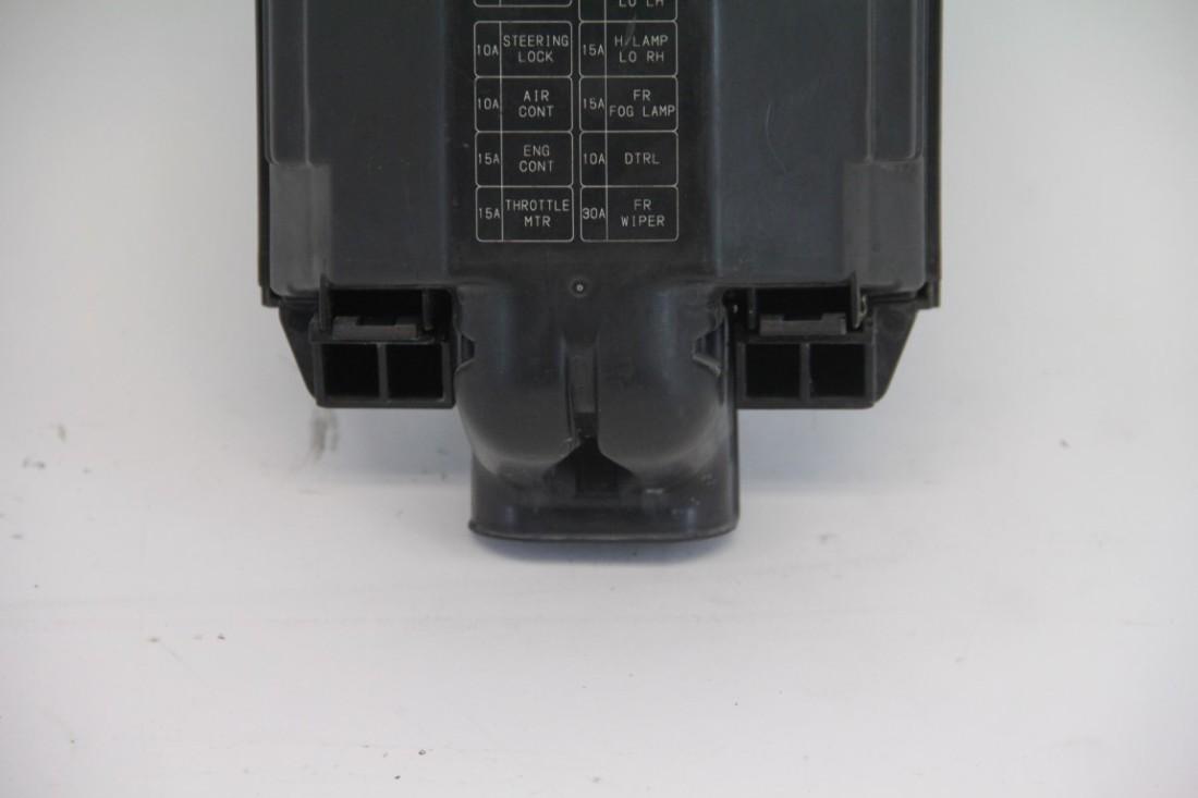 infiniti fx35 engine hood fuse box exterior black oem 09-12