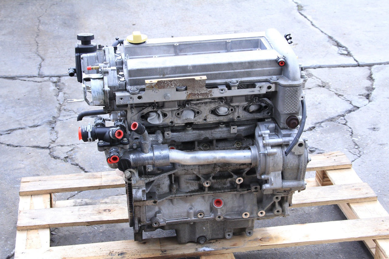 Saab 9-3 Engine Motor Long Block Assembly 2 0T Low Pressure 138k Mi 03 04  05 06 07