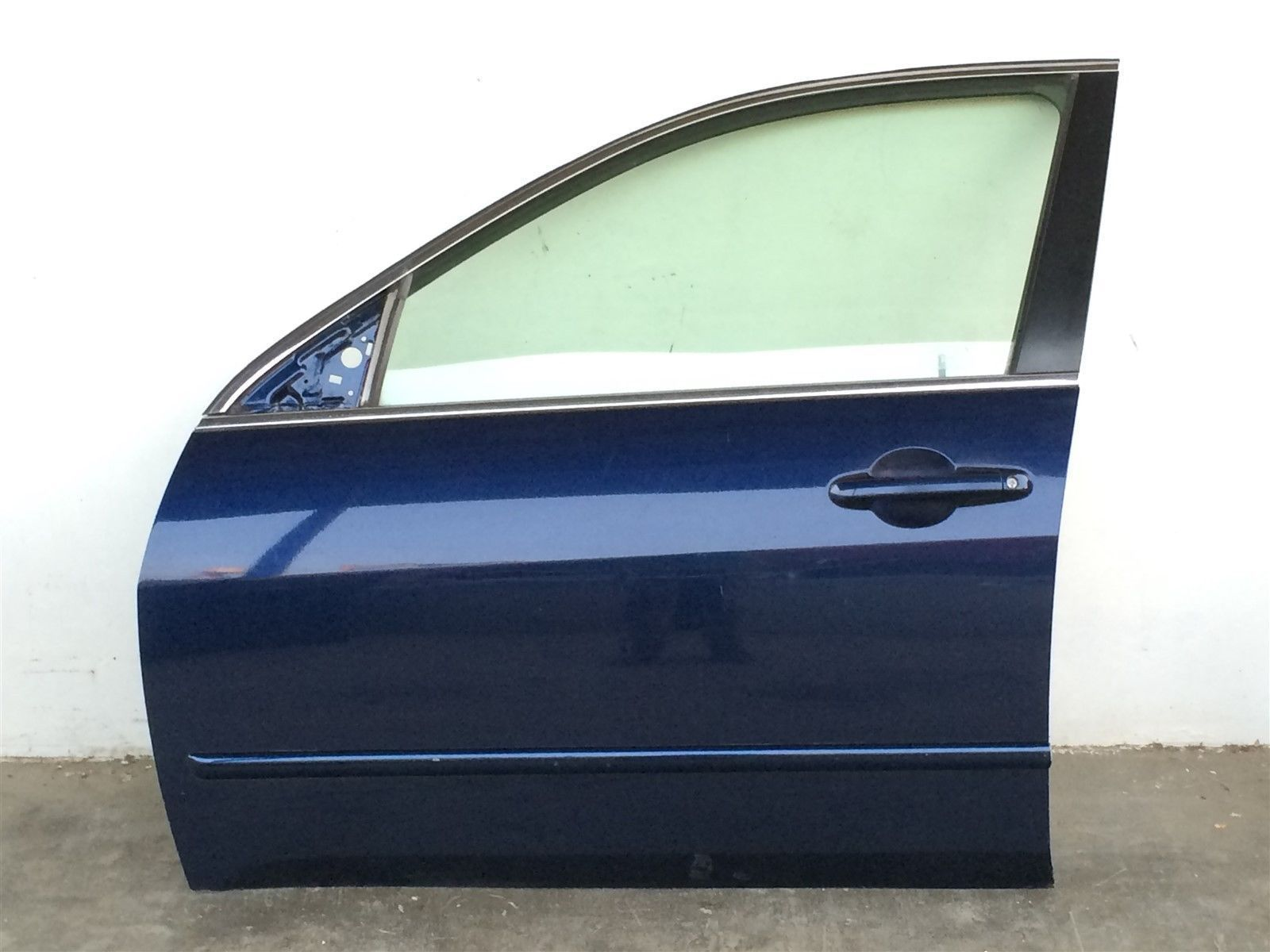 Honda Accord Sedan 03-07 Front Door Assy Left Driver Side Electric Blue