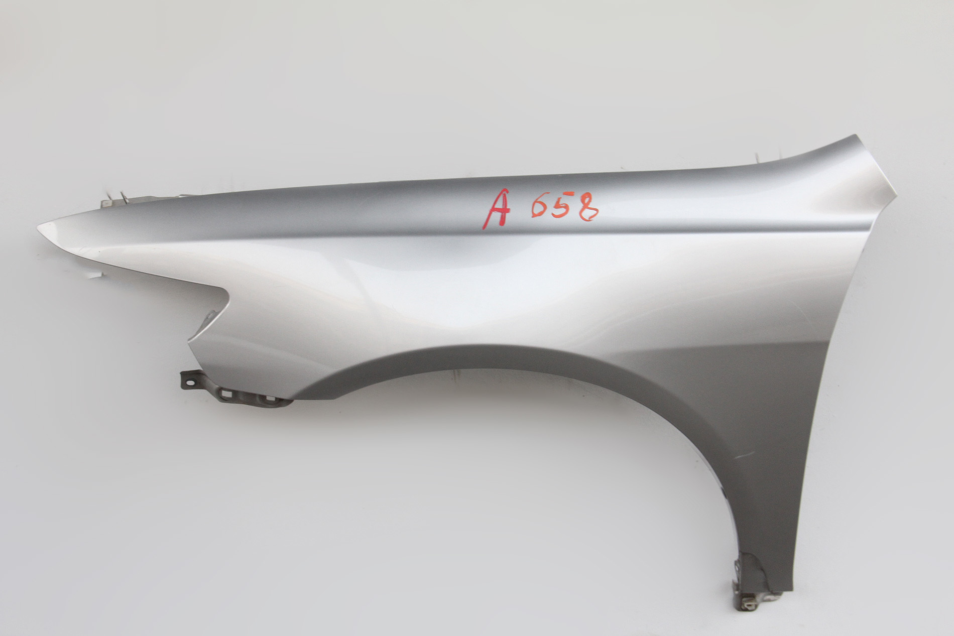 Acura TSX Fender Assembly LeftDriver Side Silver SEA - Acura tsx fender