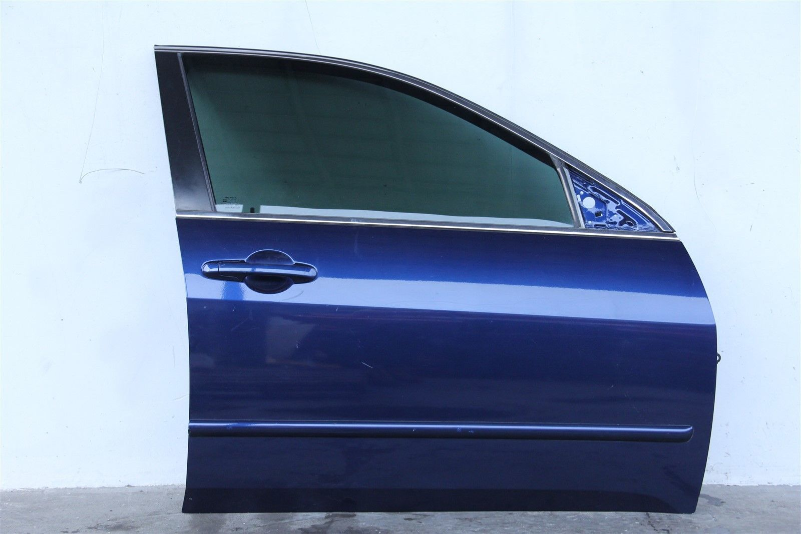 Honda Accord Sedan 03 04 05 06 07 Front Door, Right Side Electric, Blue
