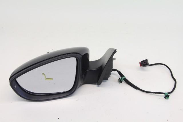 VW CC Rline Left Driver Side View Door Mirror Black 3C8 857 933 A OEM 09-12