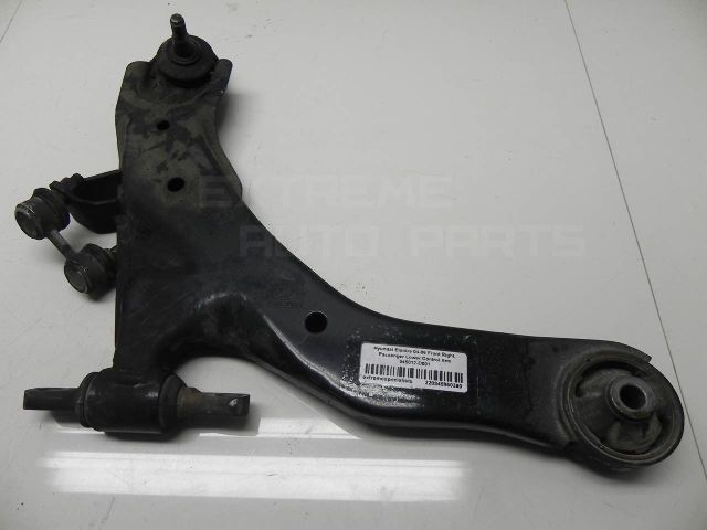 Hyundai Elantra 04-06 Front Right, Passenger Lower Control Arm 545012-D001