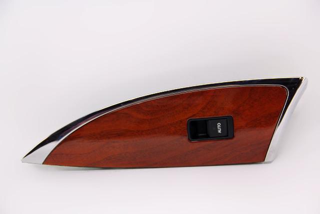 Lexus ES350 Rear Left Door Window Switch W/ Wood Trim Bezel 09-12