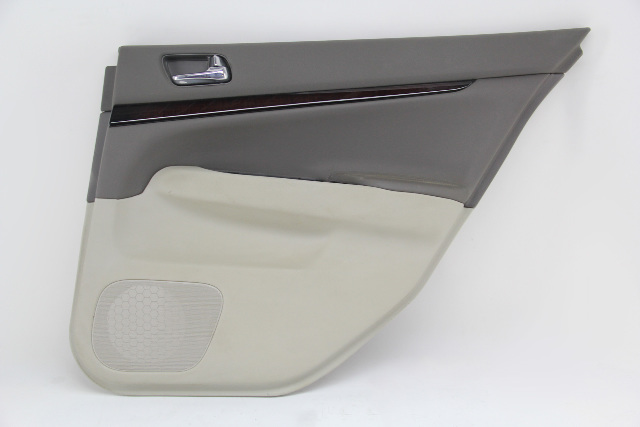 Infiniti G37 Sedan 12 13 Door Panel Trim Lining Rear Right/Passenger 82900-JU72E