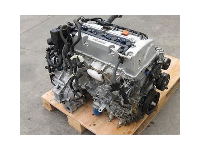 Honda Accord 2.4L 4 Cyl. 08 09 10 Long Block Engine Motor Assembly 109K Mi.