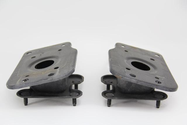 Infiniti FX35 Rear Left/Right Bumper Support Brackets Set Black 03-05