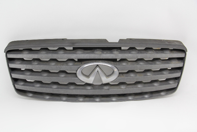 Infiniti FX35 FX45 Dark Gray Charcoal Matte Grill Grille 62310-CG000 OEM 03-05