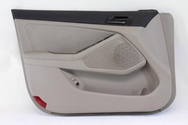 Kia Optima Door Panel Black Front Left/Driver Side Leather Black/Tan OEM 11-13