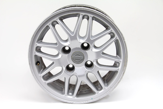 Nissan 240SX Alloy Wheel Silver Rim 40300-80F25 15x6 OEM 97-98 #4