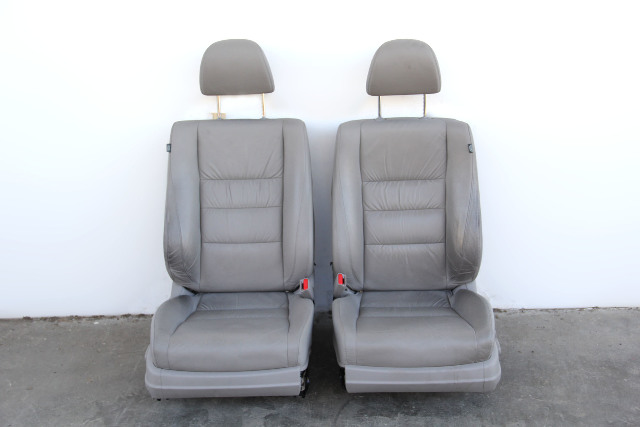 Honda Accord Sedan 08-10 Seat Assy Set, Right Pass/Left Driver Gray/Grey Leather