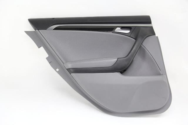 Acura TL 04-08 Rear Left Door Panel Trim, Gray 83786-SEP-A01ZB