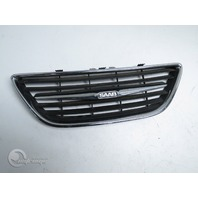Saab Sedan 9-3 03-07 Front Bumper Center Grille Grill, Chrome 12787224