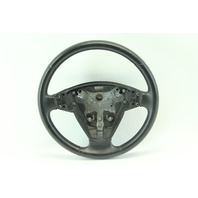 Saab 9-3 Sedan 03-05 Leather Steering Wheel w/ Switches, Black 12796742
