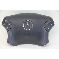 Mercedes-Benz C320 01-02 Left Driver Wheel Airbag Air Bag Black 20346011989B51