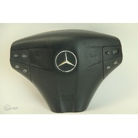 Mercedes-Benz C230 02-05 Left Driver Wheel Airbag Air Bag Black 2034602398