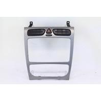 Mercedes C230 Coupe 02-05 Carbon Fiber Radio Bezel Hazard Switch 2038217258