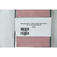 Mercedes Benz CLS500 Heated Seat Module Unit 2118702026 OEM 06